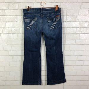 7 FAM Dojo Flip Flop Jeans